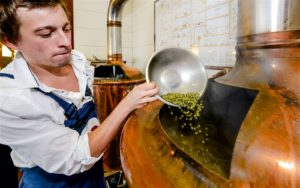mini brewery excursion, Czech Republic