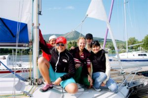 Yachting regatta in Southern Moravia