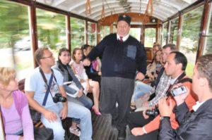 Historical tram ride, Prague