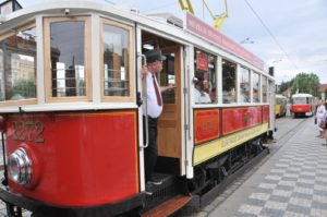 Prague historical tram - private ride for groups