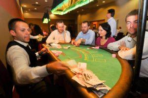 Casino corporate programme - black jack