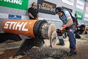 Timbersports competitor from Czech Republic