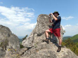 Hiking in Slovakian Sulov Rocks