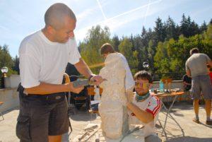 Sculpture making team building